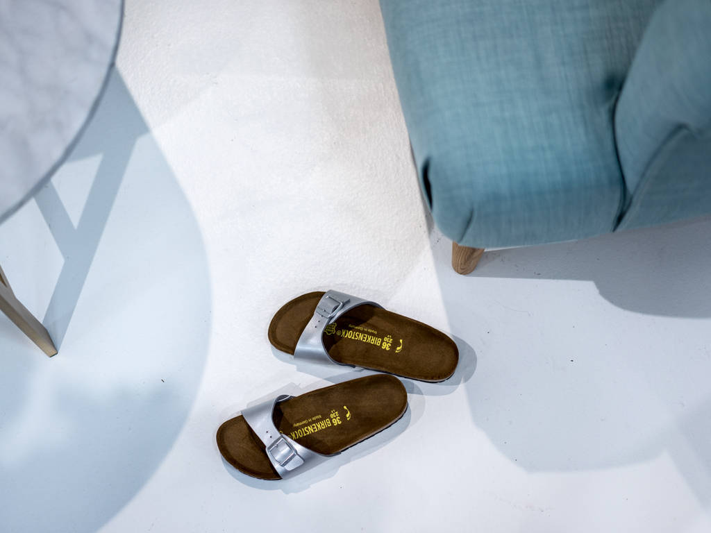 A good pair of slides will take you from the pool to the market