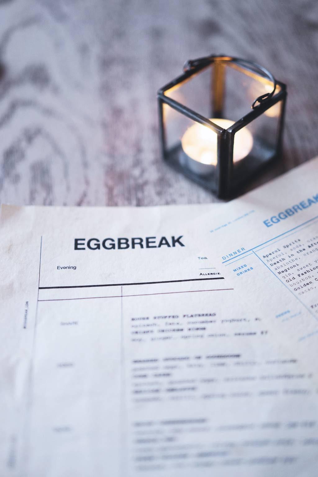 Eggbreak, London